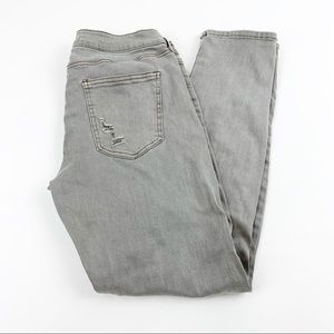 Altar'd State Distressed Gray Jeans 27